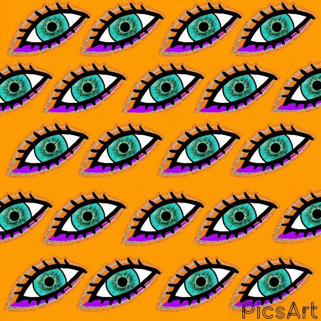 2nd version #patterncontest #pattern #mydrawing #drawnbyme #eye #orange #purple #myart #madewithpicsart #madebyme #picsart #lightblue #drawing #colorful #creativity @pa