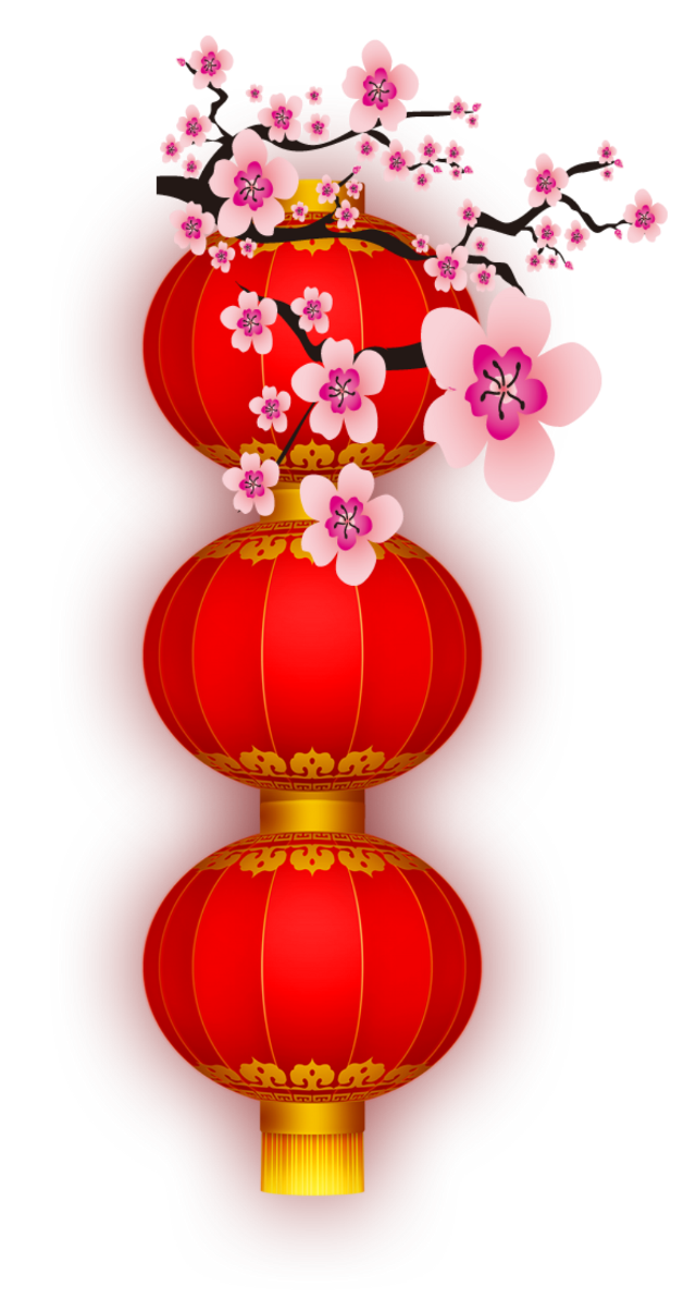 #lanterns #cherryblossoms #chinese #asian #ftestickers