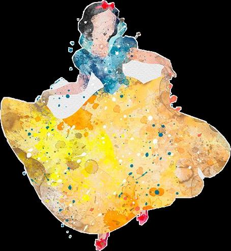 #snowwhite #disney #watercolour#freetoedit