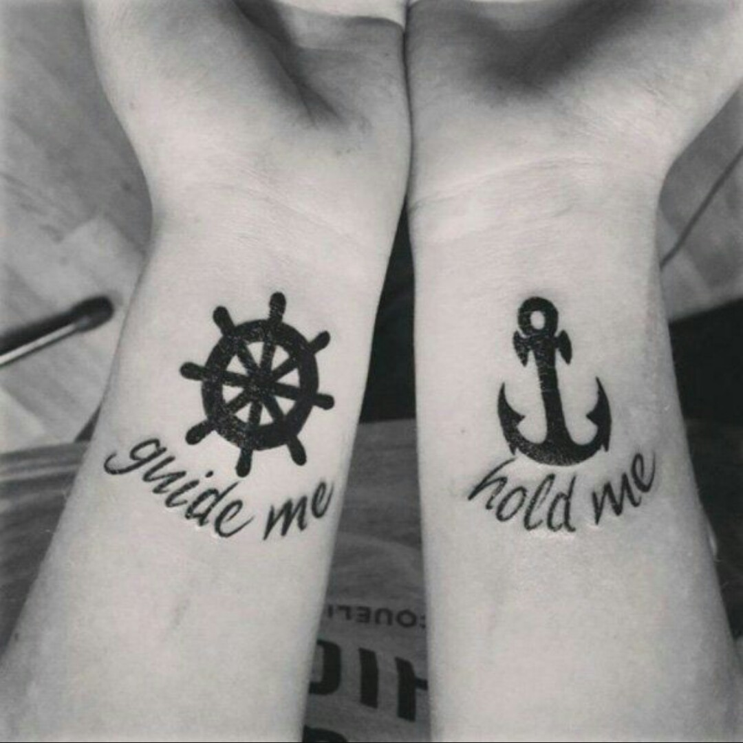 couples matching tattoos - 650×650