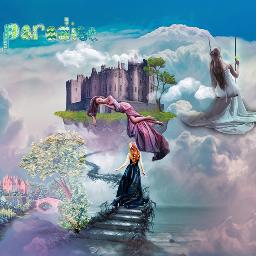 inthesky freetoedit stickersedit skyandcloudsremix magicalworld