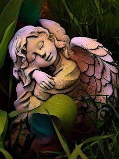 wapallmagiceffects cute angel sleep magiceffects