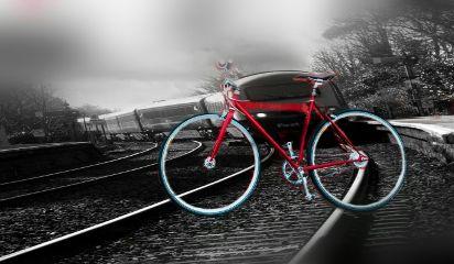 freetoedit train bicyle speed