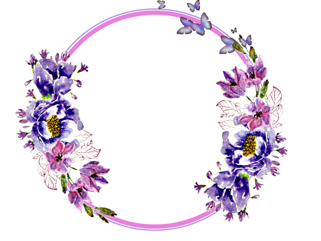 #flowers #circle #stickers #garland #wreaths