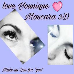 mascara3d younique effettocigliafinte waterproof freetoedit
