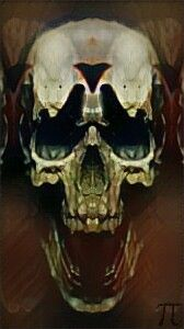 demon devil death skull evil