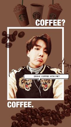 bts jhope hoseok lockscreen coffee freetoedit