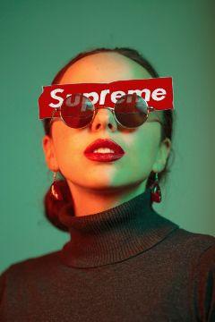 freetoedit remixit daylysticker woman glasses ftestickers