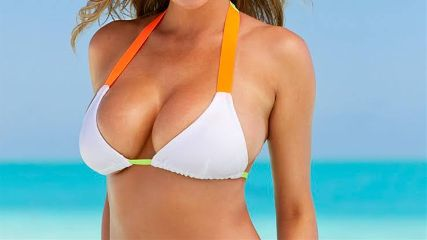 attack boobs beach bikini birthday