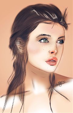 freetoedit mydrawing painting portrait