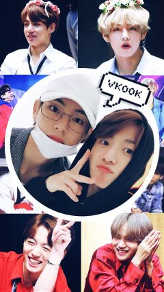 vkookedit lockscreen kpopedit jungkook taehyung freetoedit