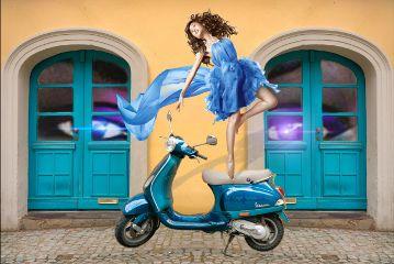 mopedremix freetoedit moped dance eyes