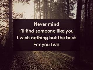 adele lyrics trees quote morning freetoedit