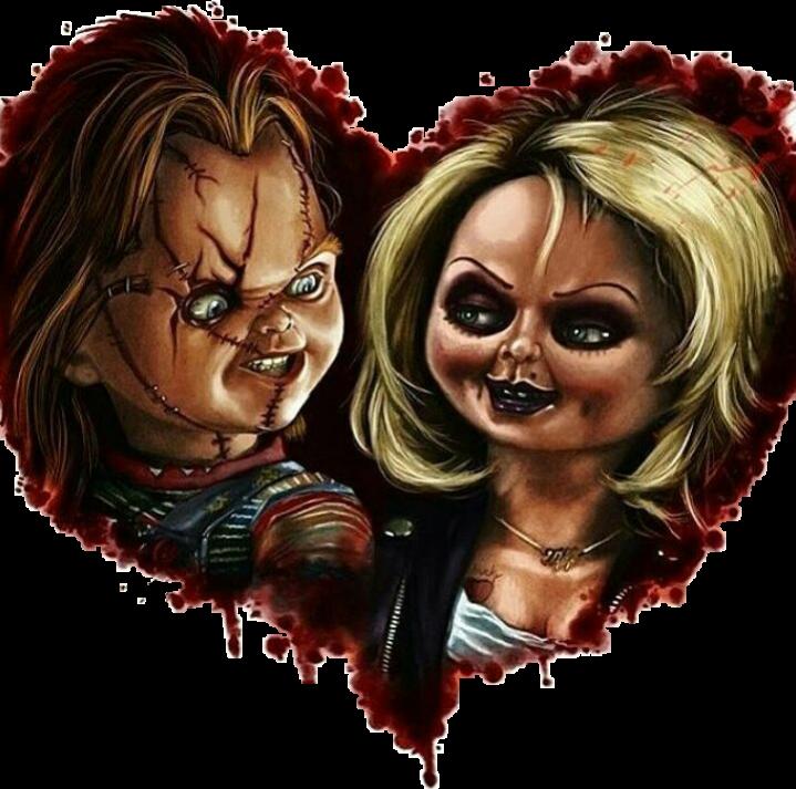 Love Chucky Tiffany Sticker By Doank