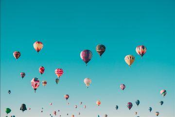 freetoedit balloon balloons blue sky