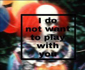 freetoedit it clown scary frases