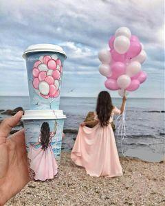 freetoedit baby balloon beach dress