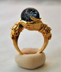 freetoedit ring hand world gold