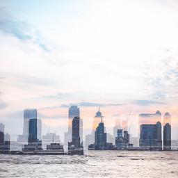 freetoedit landscape doubleexposure city cityscape