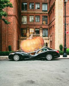 freetoedit remixit car pumpkin splash ftestickers