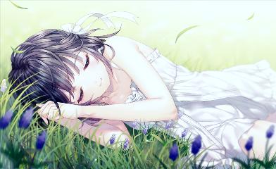animegirl cute beautiful dreams digital