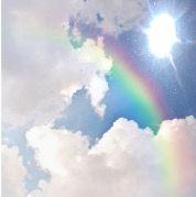 freetoedit sun rainbow clouds picsart