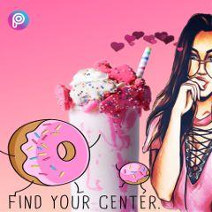 freetoedit pink remixit icecream
