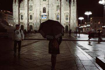 freetoedit girl umbrella love italy