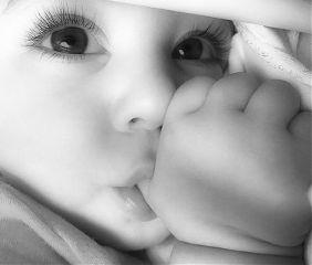 freetoedit baby babylove blackandwhite