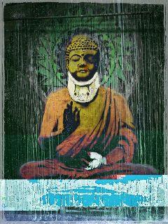 freetoedit banksy buddha