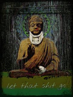 banksy buddha freetoedit