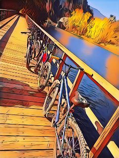 nature bicycle friends fridayfun
