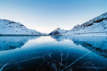 winter beauty frozen ocean nature