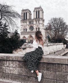 freetoedit paris notredamedeparis lamode fashion