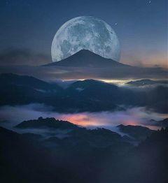 freetoedit moon fantastic wonderful beautiful