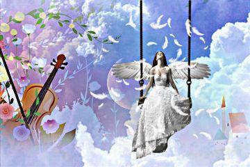 moonremix freetoedit heaven angels sky