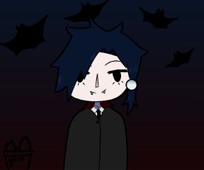 mydrawing oc myoc vampire cute freetoedit