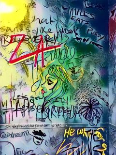 graffitiart artistic girlsbathroom