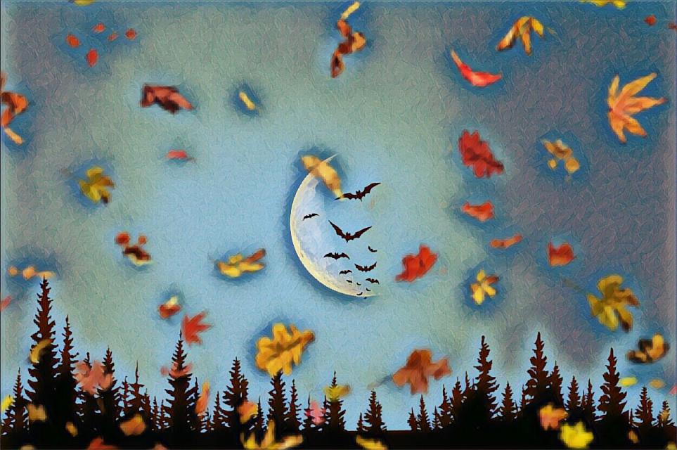 # nightsky #halloween