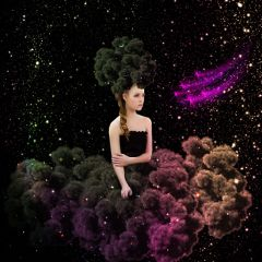 cloudy girl woman madewithpicsart galaxy