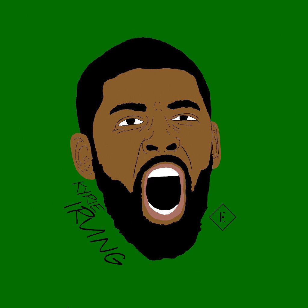 premium selection a0f69 a9f18 Kyrie Irving drawing  madewithpicsart  freetoedit  boston  usa  nba   basketball