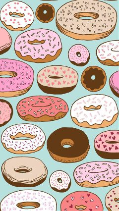 freetoedit donuts colorful colors sweets