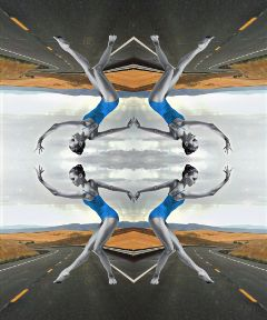 freetoedit vipshoutout road dancer mirroreffect