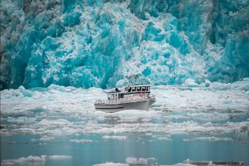 freetoedit alaska nature frozen boat