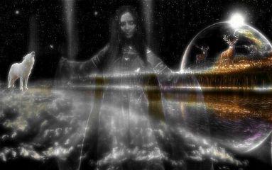 freetoedit remix blackandwhite fantasy wolf