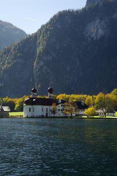 travel germany landscape autumn colorful