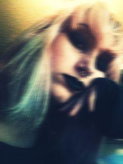 blacklips me freetoedit mypic pinkhair