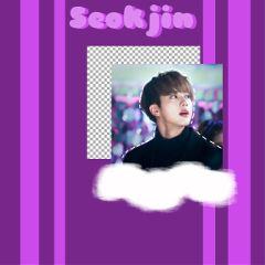 bts seokjin purple