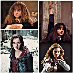 freetoedit france hermionegranger womanpower collage
