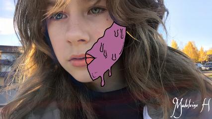 grimeart grime selfie art outline
